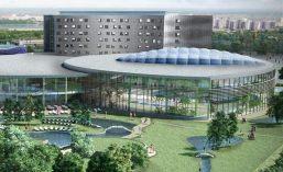 Оздоровительно-развлекательный акватермальный СПА-комплекс при отеле в городе Тюмень