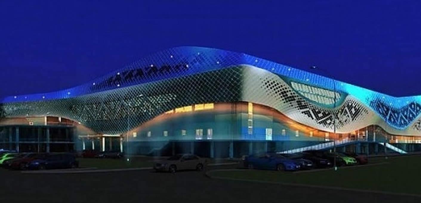 Многофункциональный спортивно-оздоровительный комплекс, город Салехард